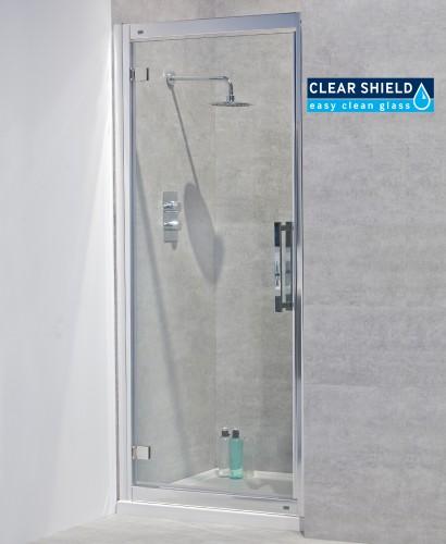 Avante 8mm 1000 Hinged Shower Door - Adjustment 940-1000mm