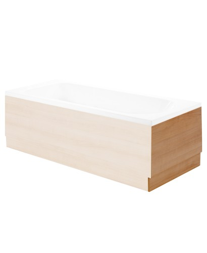 Attica Oak 700 Bath End Panel
