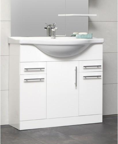 Blanco 85cm Vanity Unit & Basin - PRICE INCLUDES UNIT AND BASIN