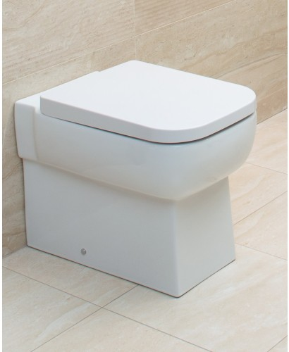 Monza Back To Wall Toilet & Soft Close Seat