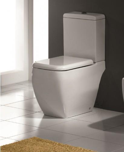 RAK Metropolitan Close Coupled Toilet and Soft Close Seat