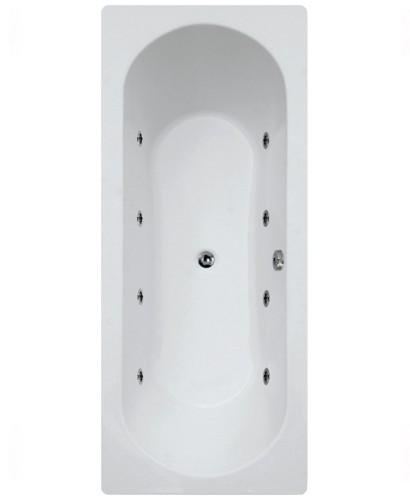Crofton  1800 x 800 Double Ended 8 Jet Whirlpool Bath