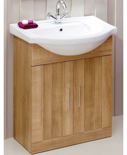 Cordoba Oak 65cm Vanity Unit & Basin