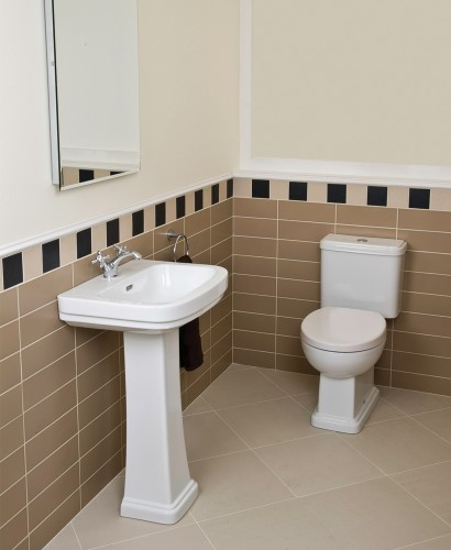 RAK Decor Toilet and Wash Basin Set