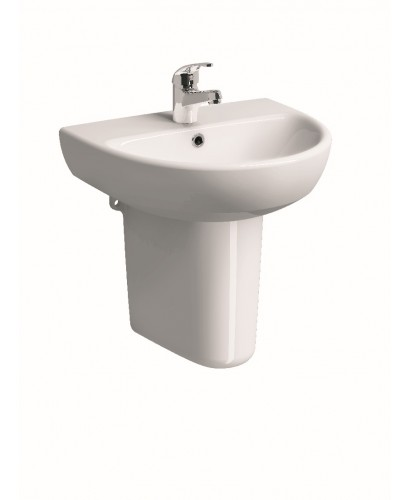 Twyford E100 Round Cloakroom basin