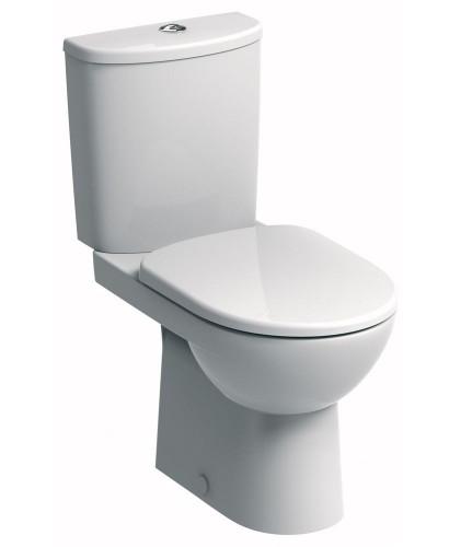 Twyford E100 Round Close Coupled Premium Toilet & Soft Close Seat