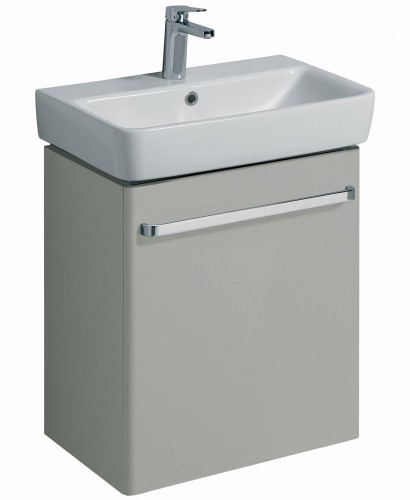 Twyford E200 600 Grey Vanity Unit Wall Hung