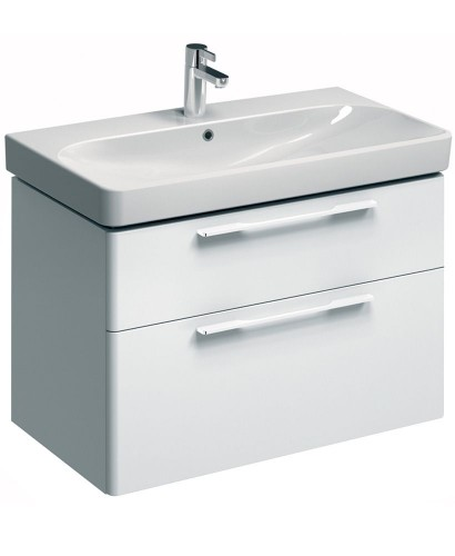 Twyford E500 900 White Vanity Unit Wall Hung