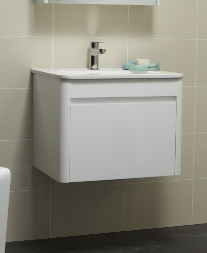 Elora 60cm White Vanity Unit and Basin