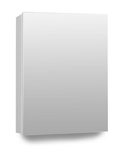 Hampstead 1 Door Mirror Cabinet 50cm White