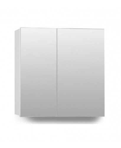 Hampstead 2 Door Mirror Cabinet 70cm White