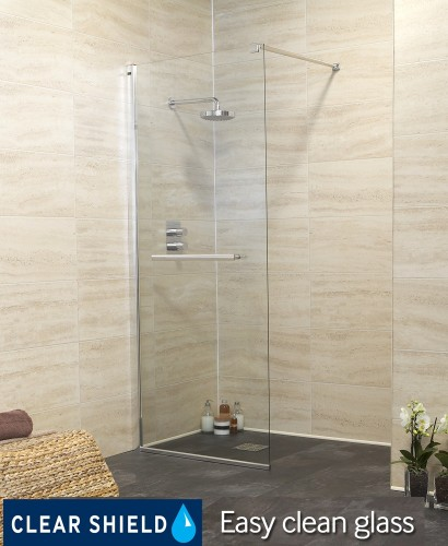 Rival Range 800 Wetroom End Panel - REDUCED TO CLEAR