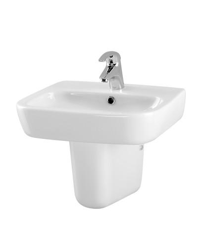 Basin 50cm & Semi Pedestal - Contemporary Wash Basins - Wash Basins ...