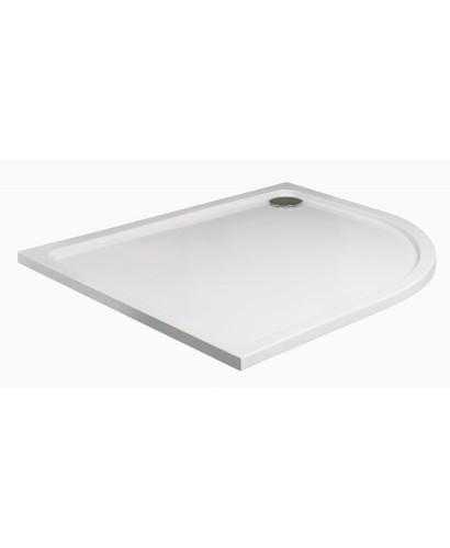 Slimline 1200 x 900 Offset Quadrant Shower Tray RH