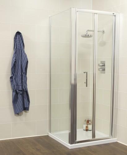 Kyra Range 760 Bifold Door with Side Panel