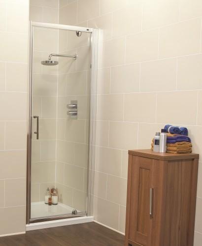 Kyra Range 760 Pivot Shower Door - Adjustment 740 -800mm