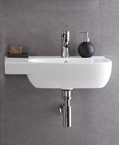 Twyford Moda Basin 65cm with Shelf LH