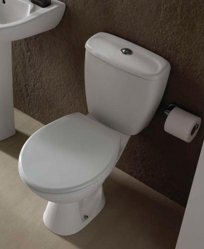 Twyford Option Close Coupled Toilet & Seat