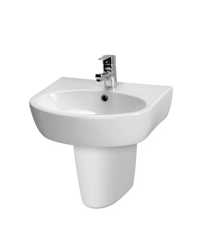 Prato Basin 55cm & Semi Pedestal (1TH)