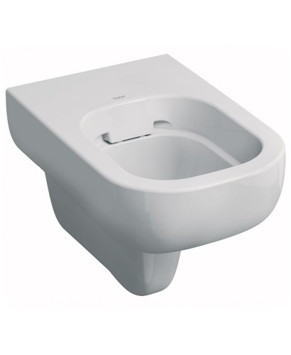 Twyford E500 Round Wall Hung Rimfree® Toilet with Seat