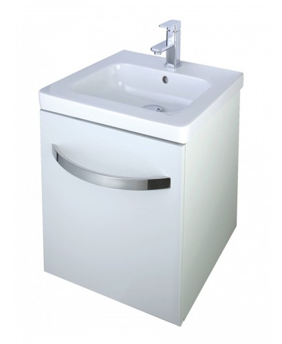 Haven 500 Vanity Unit White - REDUCED TO CLEAR