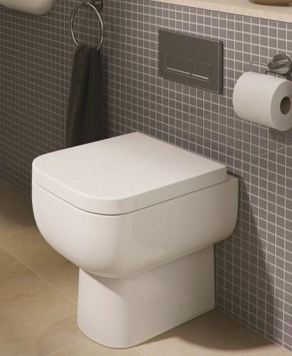 RAK Series 600 Back to Wall Toilet & Soft Close Seat