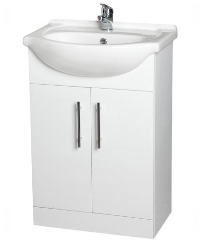 Blanco 55cm Vanity Unit, Basin & Tap
