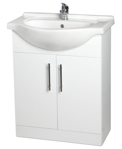 Blanco 65cm Vanity Unit,  Basin & Tap