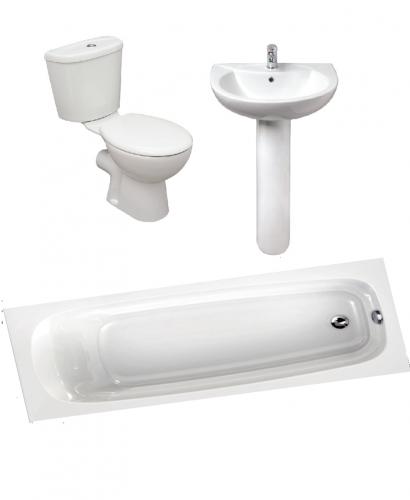 Modena 1600 Complete Bathroom Bundle