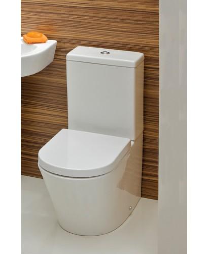 Rondo Close Coupled Toilet & Soft Close Seat