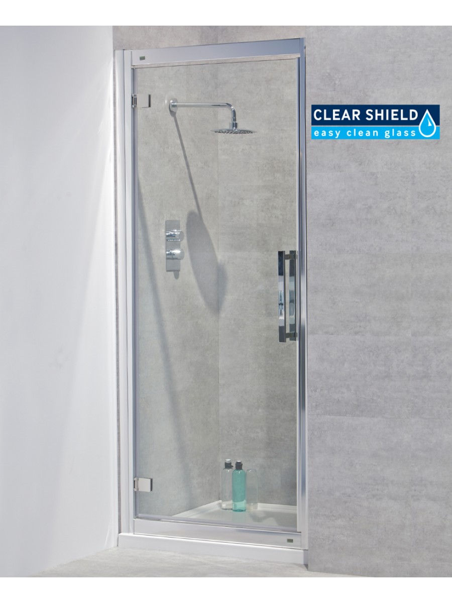 Avante 8mm 760 Hinged Shower Door - Adjustment 700-760mm