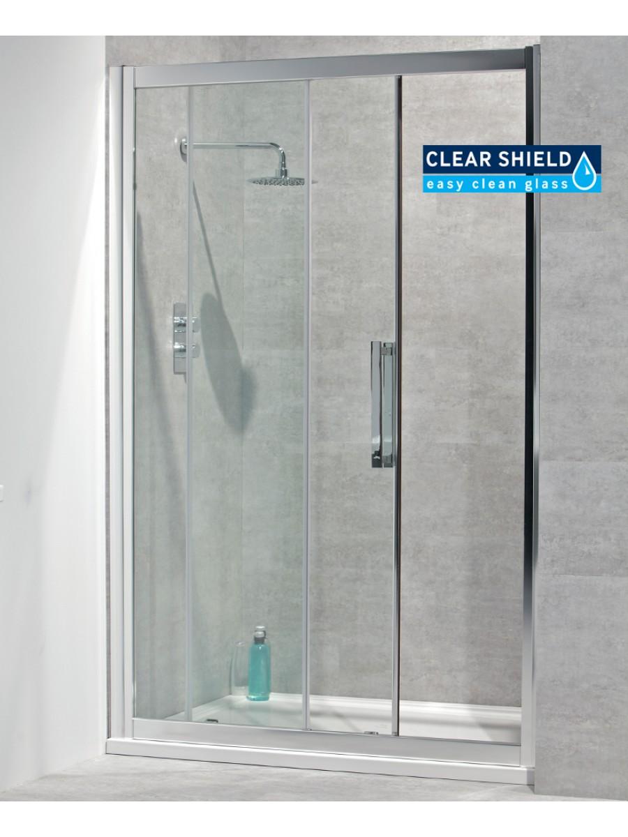 Avante 8mm 1400 Sliding Shower Door - Adjustment 1340-1400mm
