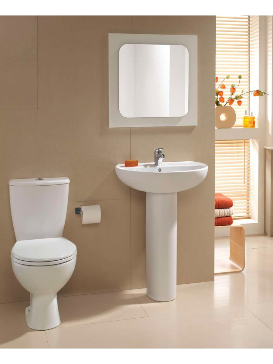 Twyford Alcona Toilet and Wash Basin Set