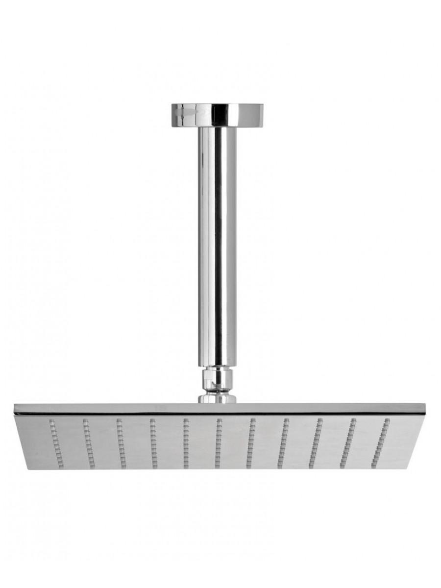 Ryna Square 250 Shower Head & 200 Ceiling Shower Arm