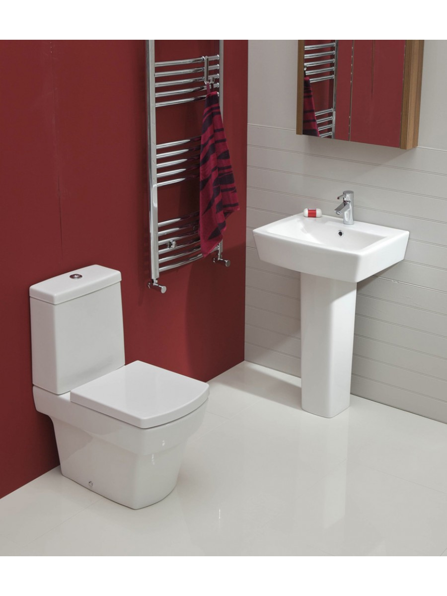 Cubo Toilet and Wash Basin Set