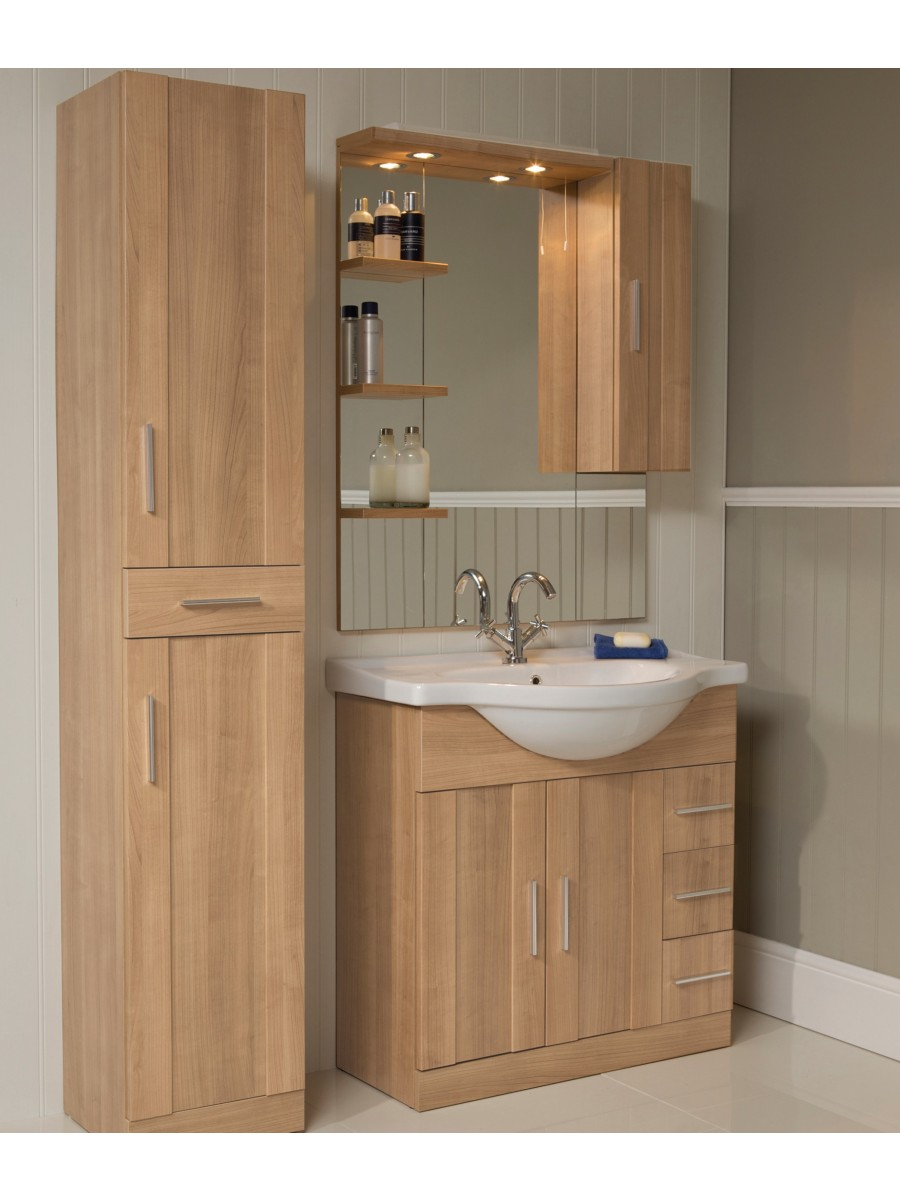 Luxury White Gloss 900mm Furniture Pack  UK Bathroom Solutions