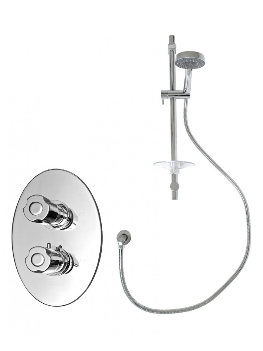"Biotherm 3/4"" Shower Valve Kit F"