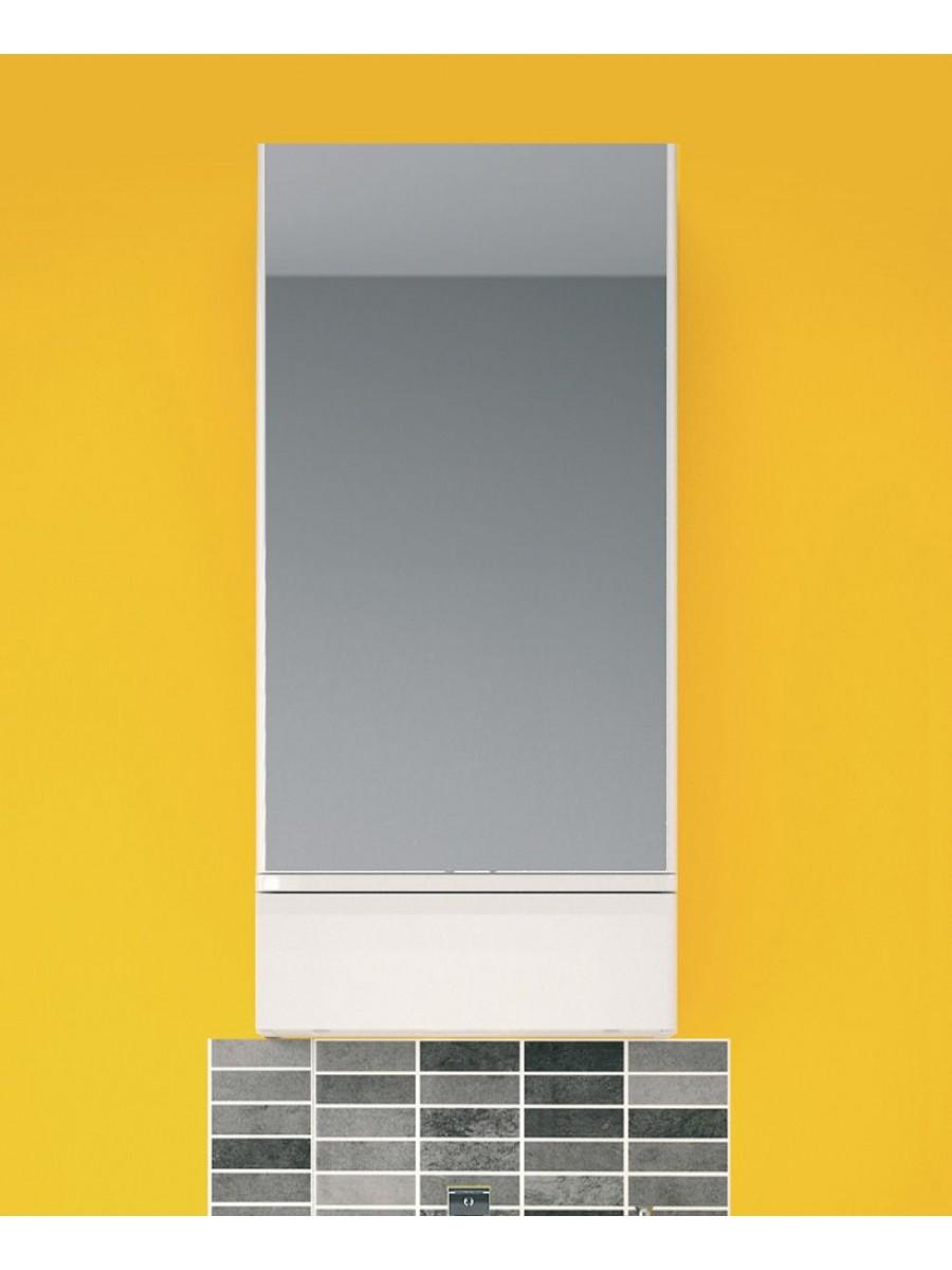 Twyford E100 White Mirror Cabinet 418mm