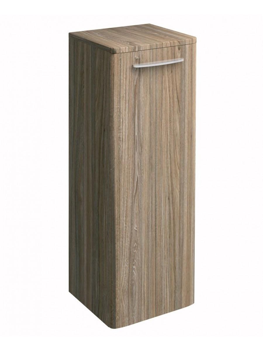 Twyford E100 Grey Ash Side Cabinet - Large