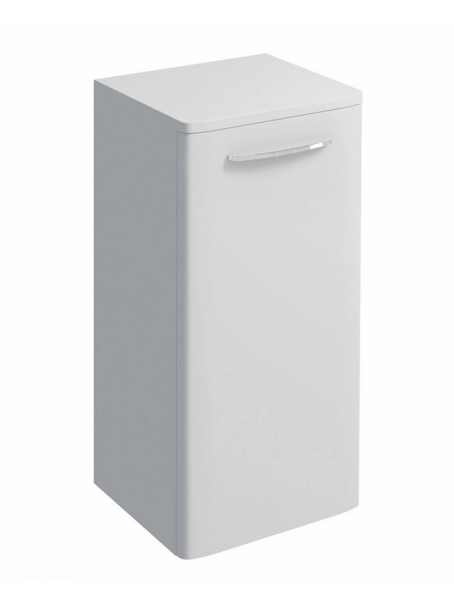 Twyford E100 White Side Cabinet - Small