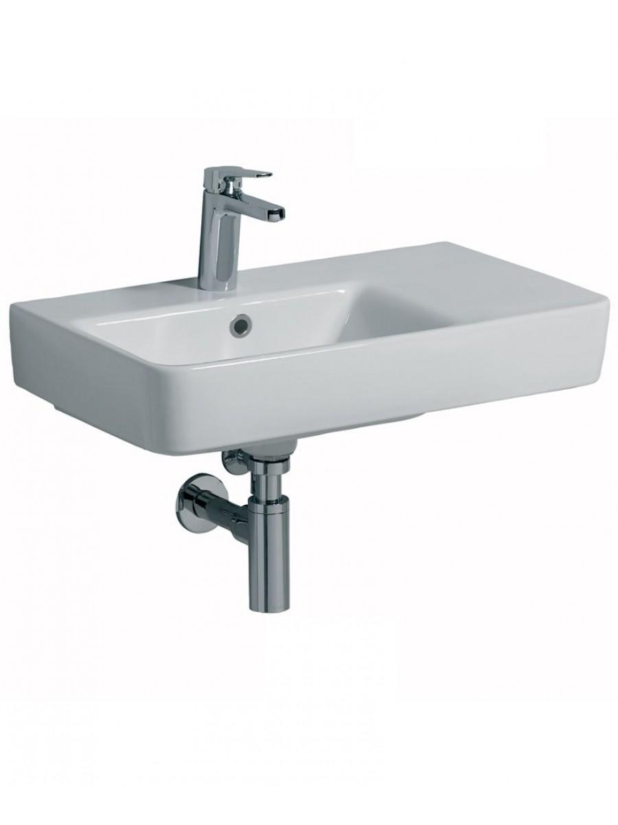 Twyford E200 650 Basin RH Shelf