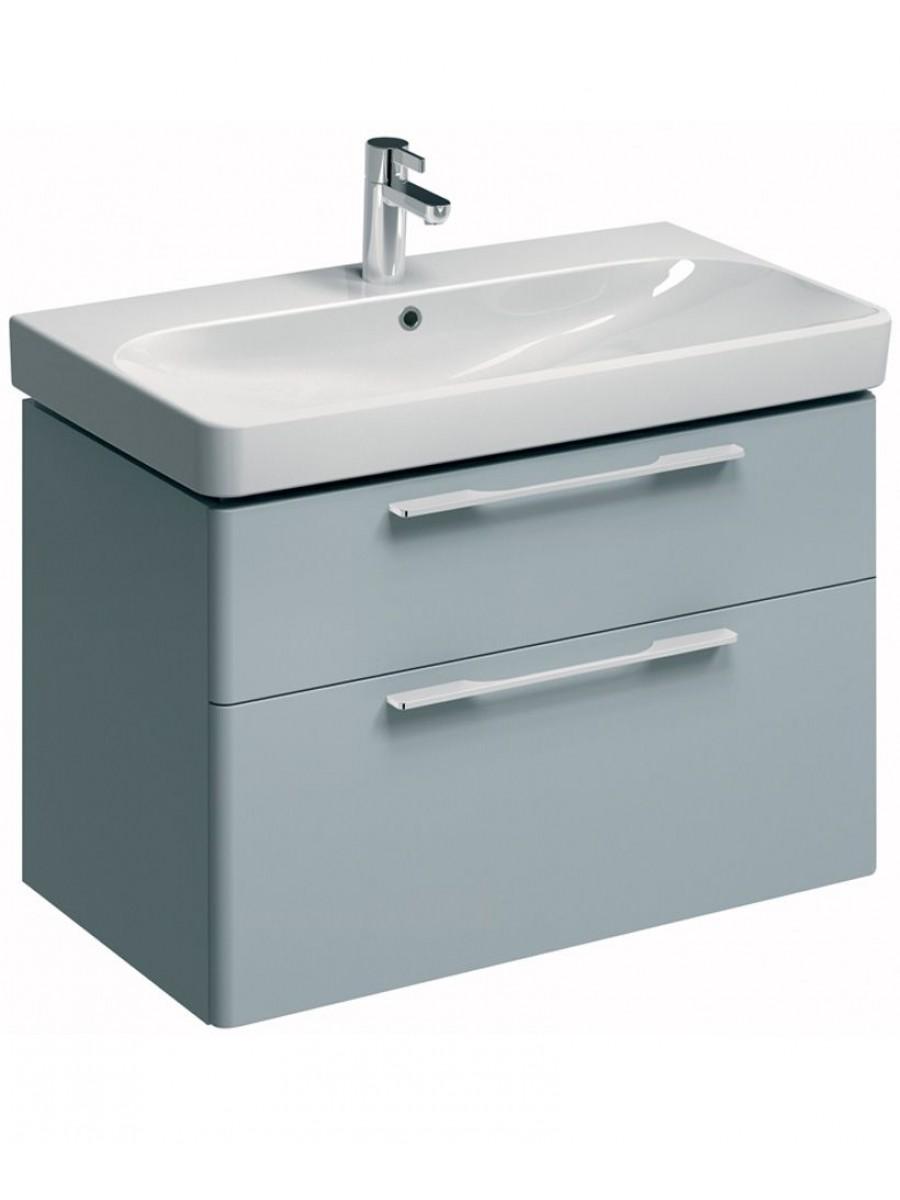 Twyford E500 900 Grey Vanity Unit Wall Hung