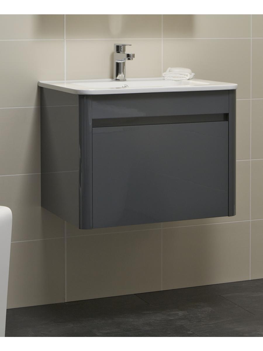 Elora 60cm Anthracite Vanity Unit and Basin