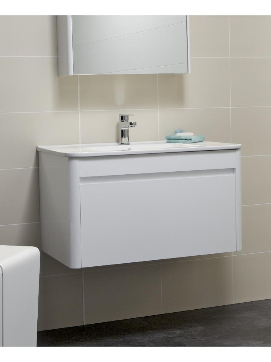 Elora 80cm White Vanity Unit and Basin