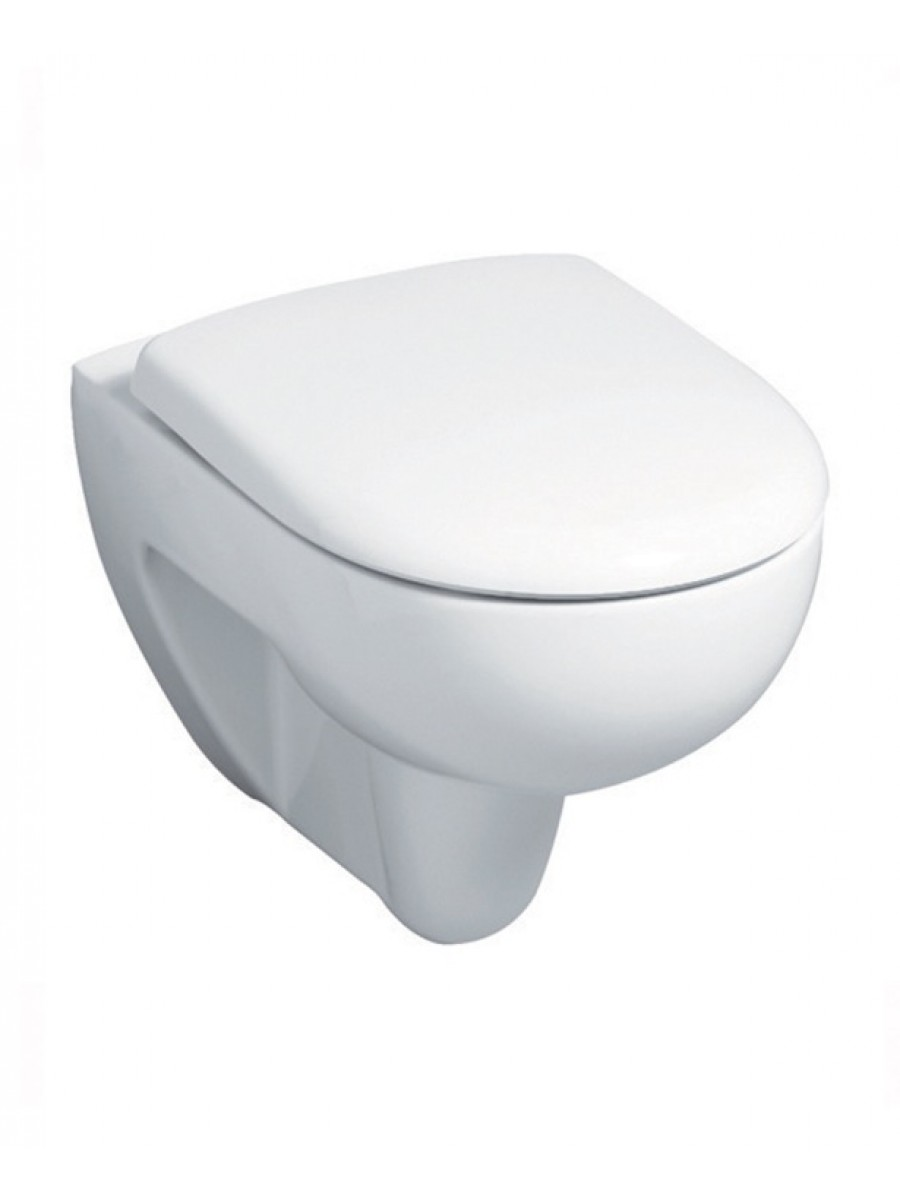 Twyford Galerie Optimise Wall Hung Toilet & Ice Soft Close Seat - Short Projection - 480mm - REDUCED TO CLEAR