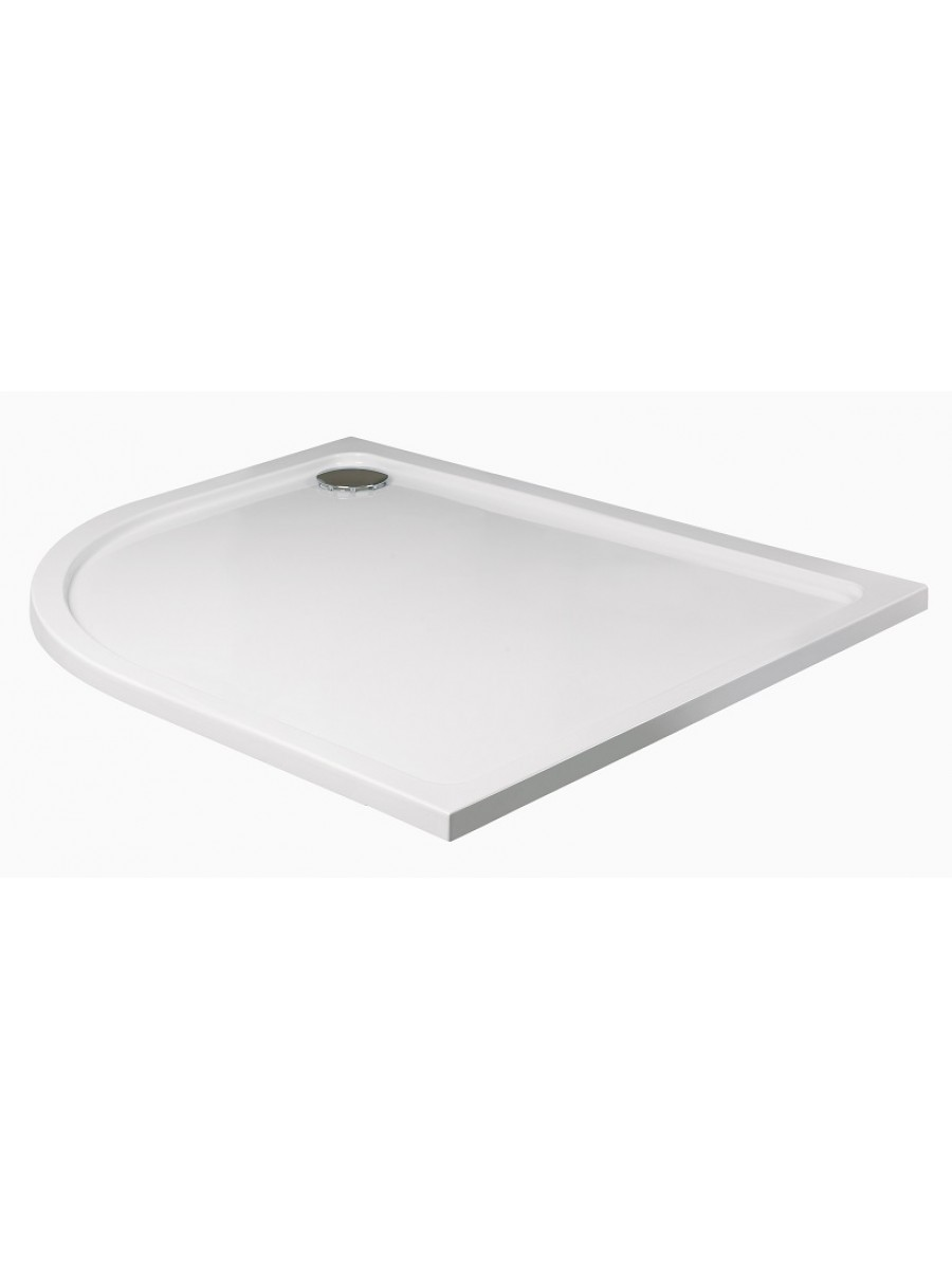 Slimline 1200 x 900 Offset Quadrant Shower Tray LH