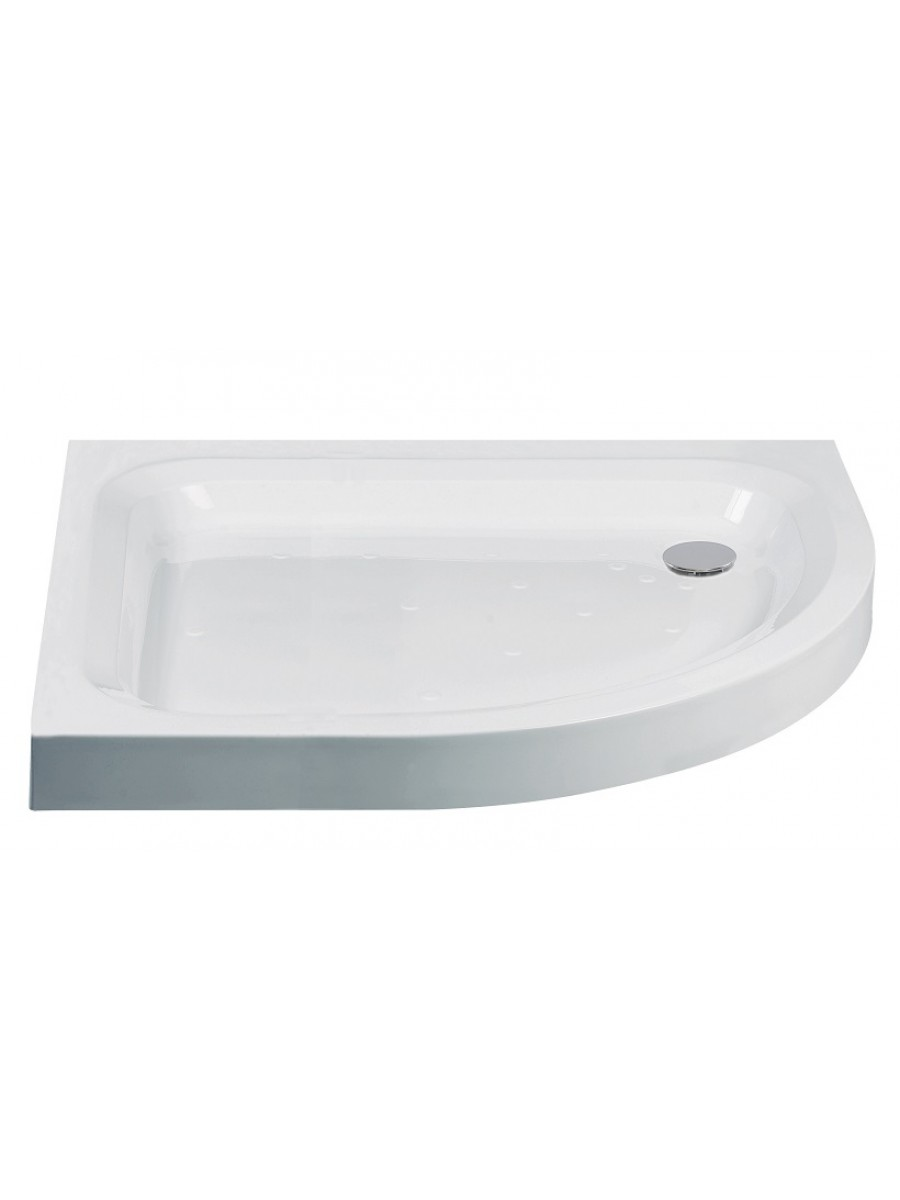 JT Ultracast 1000 x 800 Offset Quadrant Shower Tray RH
