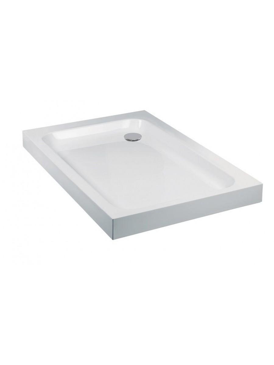 JT Ultracast 800 x 700 Rectangle Shower Tray