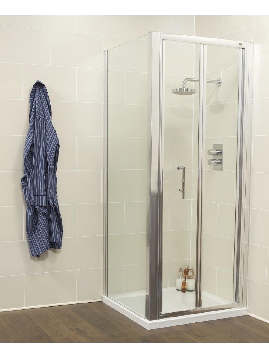 Kyra Range 1000 Bifold Door with  Side Panel