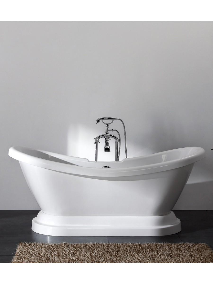 Edward 1760 x 700  Free Standing Bath